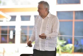 """""""Estoy a favor de la no reelección; en 2024 me retiro"""": AMLO"""