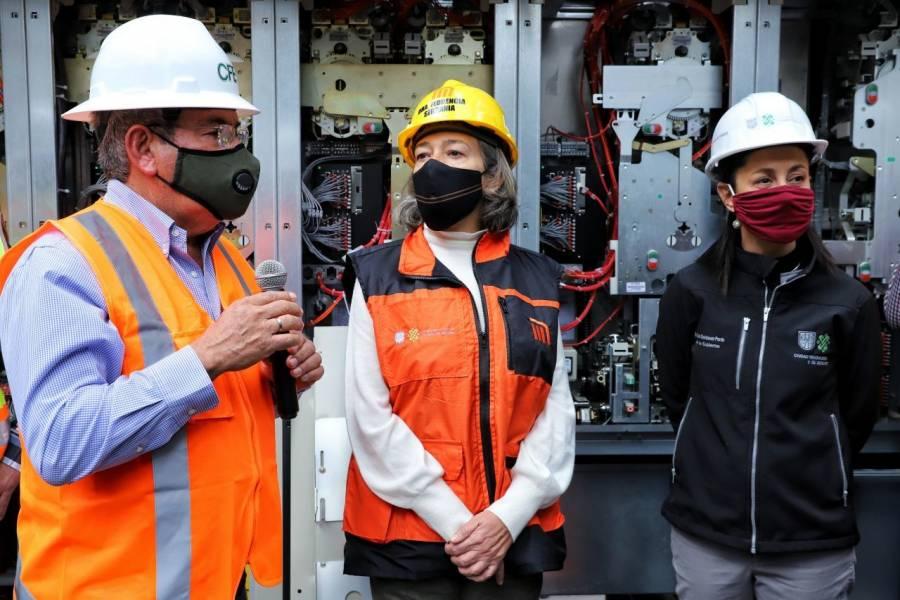 Concluyen instalación eléctrica del Metro