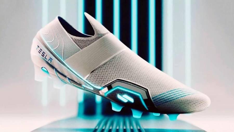Exdiseñador de Nike y Adidas, crea botas de futbol con electricidad; espera que Tesla las fabrique