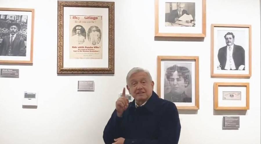 AMLO saluda a Manuel García Hernández, contemporáneo de la Revolución Mexicana, tiene 124 años de edad