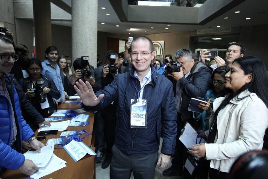 Ricardo Anaya se destapa para la elección presidencial de 2024