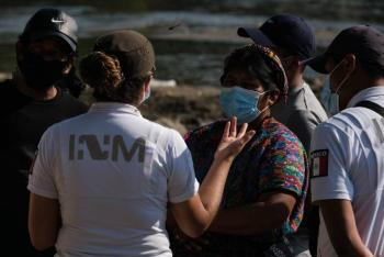 GN blinda frontera ante migrantes