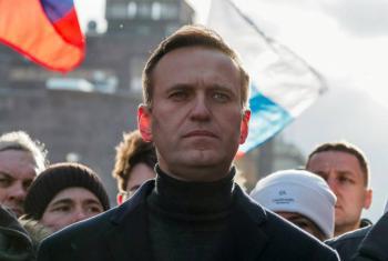 Tribunal en Rusia ordena 30 días de prisión para Alexei Navalny