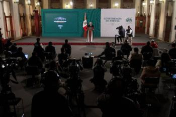 """""""Plan Mérida no, control de armas desde EEUU sí"""", pide AMLO"""