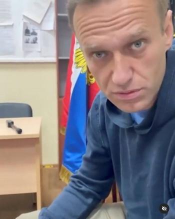 Opositor ruso, Alexei Navalny, comparece en audiencia judicial