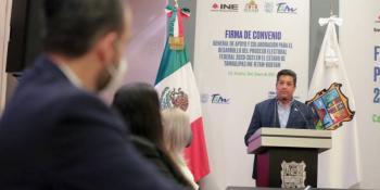 Garantizan en Tamaulipas elecciones limpias y ambiente de civilidad