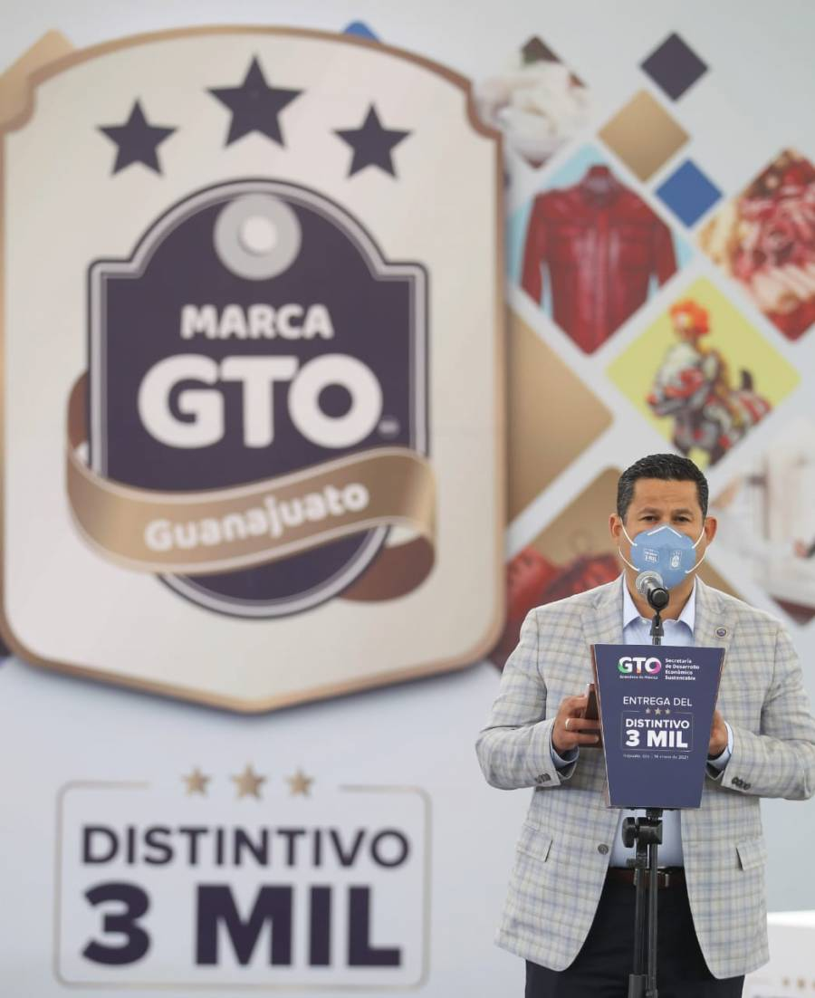 Tres mil productos fabricados en Guanajuato cuentan con distintivo MarcaGTO