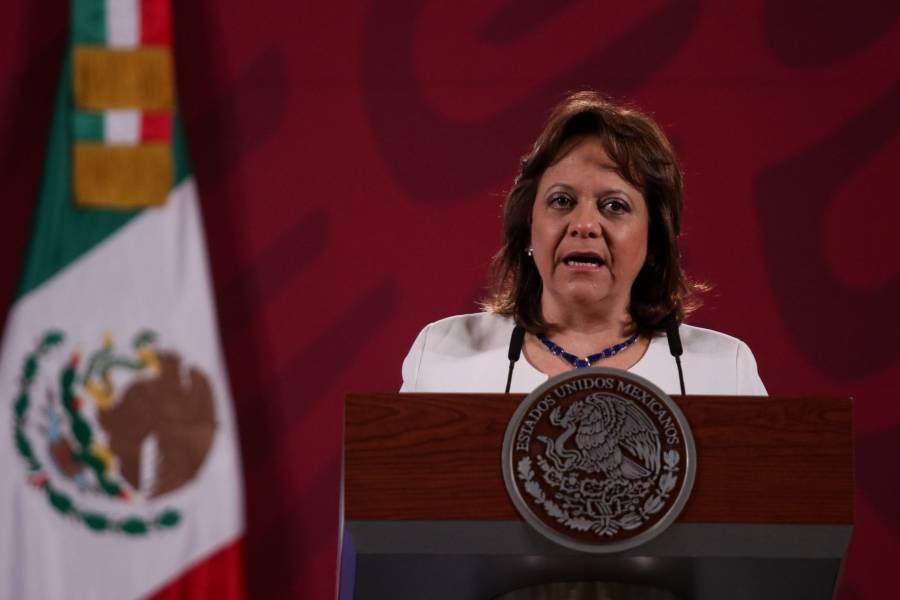 Martha Delgado niega mal uso de vacunas