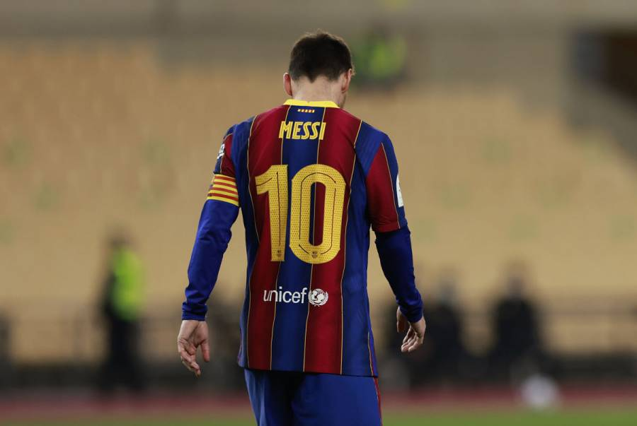 Sancionan a Messi con dos partidos tras expulsión en Supercopa