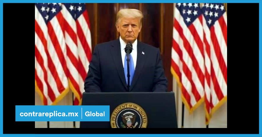 Trump desea suerte a la nueva administración, en su mensaje de despedida -  ContraRéplica - Noticias