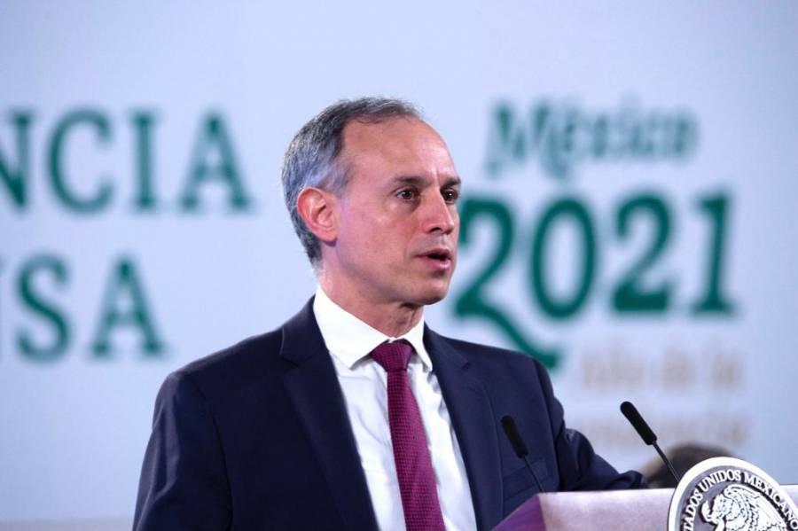 Aplicación de segunda dosis se extendería de 21 a 45 días: Hugo López-Gatell