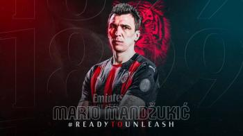 Oficial: Mario Mandzukic se une al AC Milan