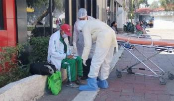 En Ecatepec, abandonan a Abuelito con síntomas de Covid-19