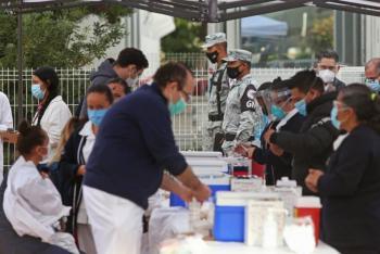 En Clínica del ISSSTE de Cuernavaca, Morelos roban vacunas Covid-19