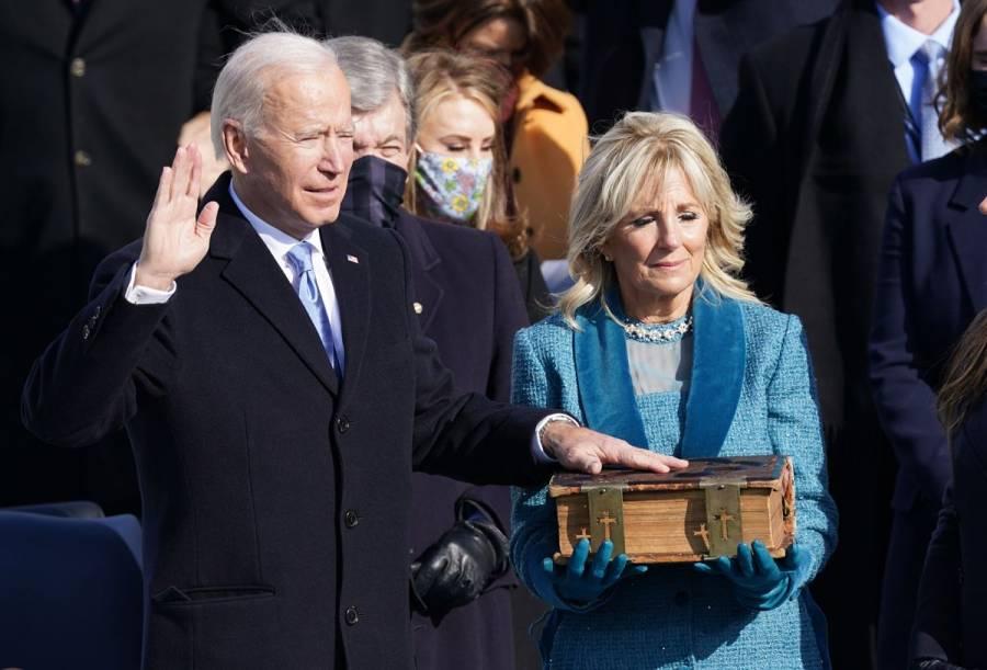 Joe Biden jura como presidente número 46 de EEUU