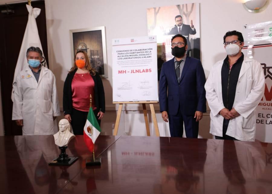 Aplicará AMH pruebas gratuitas de Covid en zonas de alto contagio