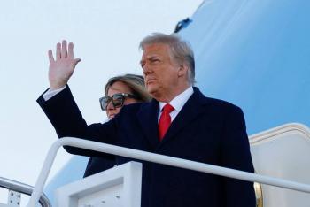 Trump deja Washington antes de que Biden asuma la presidencia de EEUU