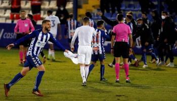 Un desastroso Real Madrid, cae eliminado por el Alcoyano de Tercera División en la Copa del Rey