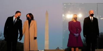 Llegan expresidentes a la toma de posesión de Joe Biden