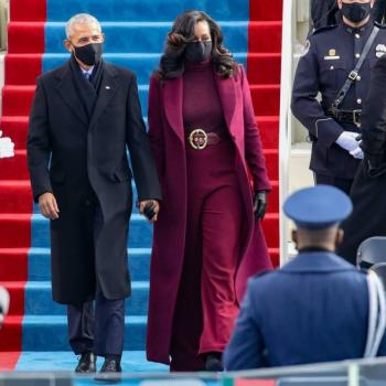 Michelle Obama y su outfit en la investidura de Joe Biden