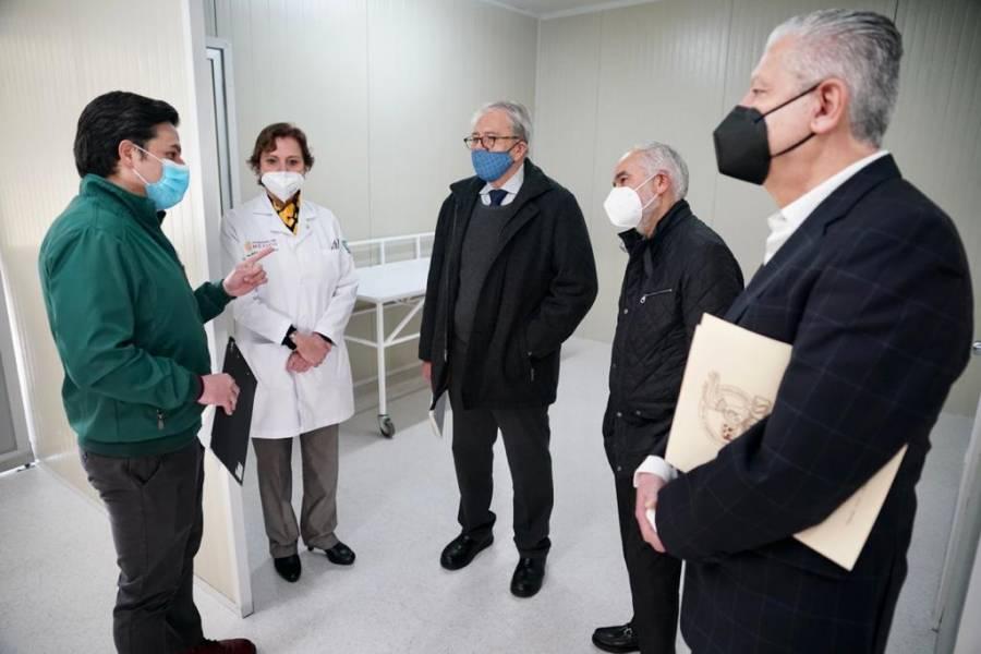 IMSS habilita Centro de Atención Temporal COVID-19 en Naucalpan
