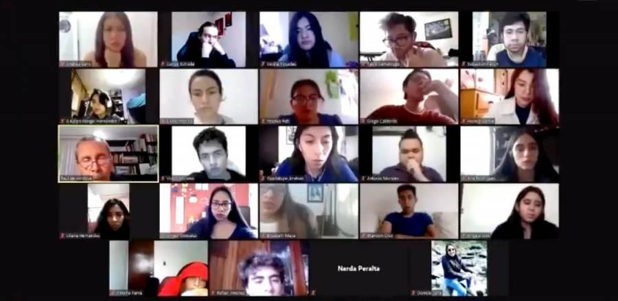 """Video: Así es la """"flexibilidad"""" de maestro en la FCPyS UNAM, reprobará a alumna con Covid-19"""