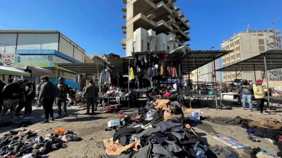 Doble ataque suicida acaba con la vida de al menos 28 personas en Irak