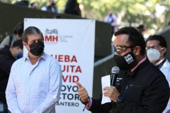 Realizan jornada de pruebas Covid gratuitas para sector restaurantero en Miguel Hidalgo