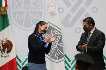 Manifiesta Claudia Sheinbaum confianza en García Harfuch