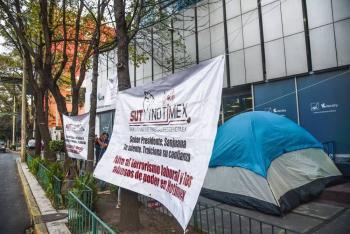 Huelga de Notimex cumple 11 meses; urge que Secretaría del Trabajo resuelva