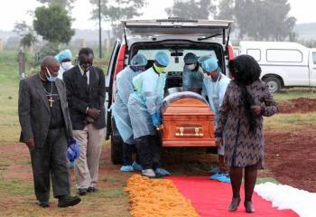 Tasa de muerte por COVID-19 en África ya es mayor que a nivel mundial