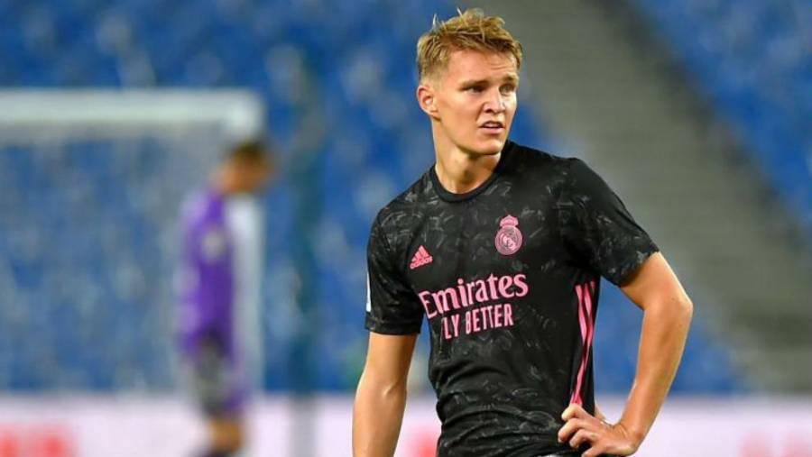 El Madrid no está seguro sobre el futuro de Odegaard