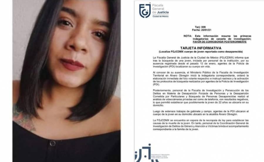 ALUMNA DE LA ENAH MURIÓ POR ASFIXIA POR AHORCAMIENTO