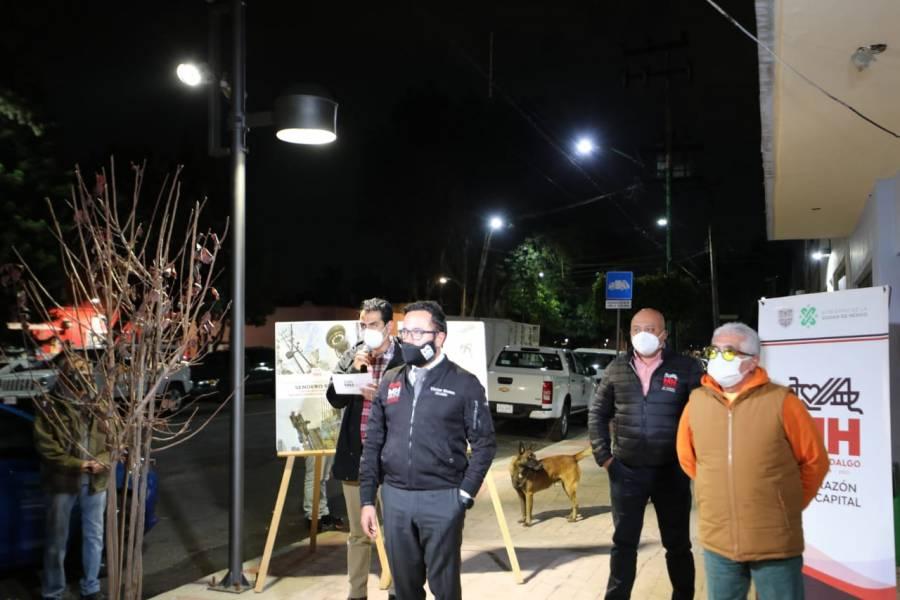 Alcaldía Miguel Hidalgo entrega 34 senderos seguros