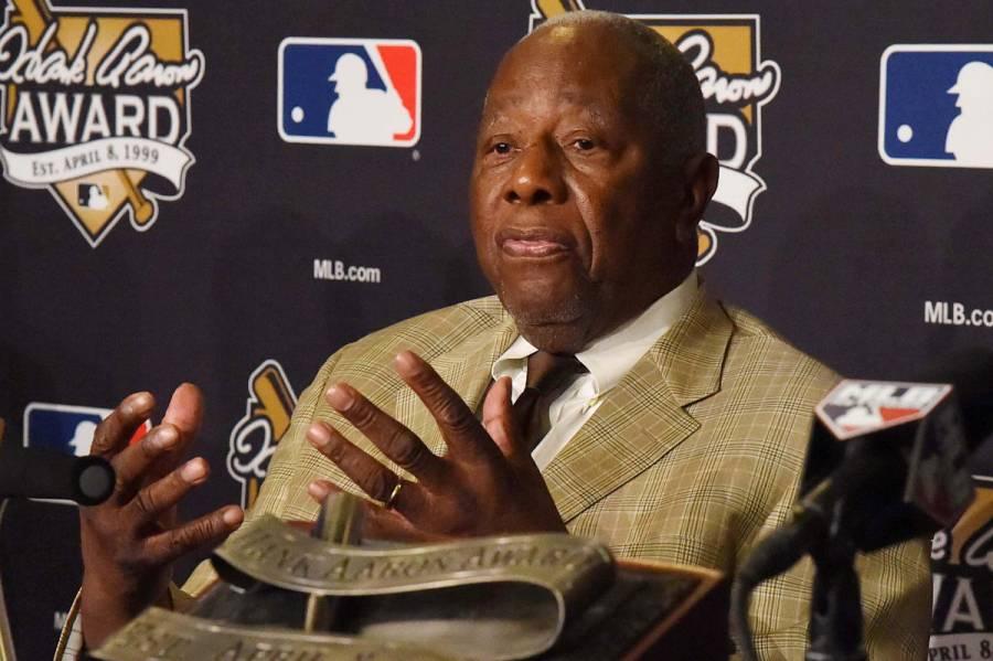 Murió Hank Aaron, leyenda en la historia de la MLB
