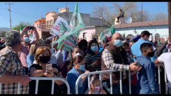 FRENAAA se manifiesta contra AMLO en Nuevo León