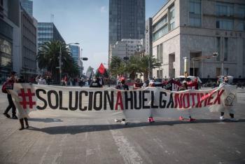 Pretende Sanjuana contratar a nuevos trabajadores en medio de huelga: SutNotimex