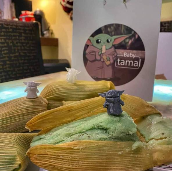 """Compañía de comida ya prepara tamales de """"Baby Yoda"""" para el Día de la Candelaria"""