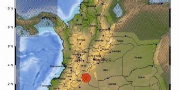 Sismo de 5.1 sacude a Colombia