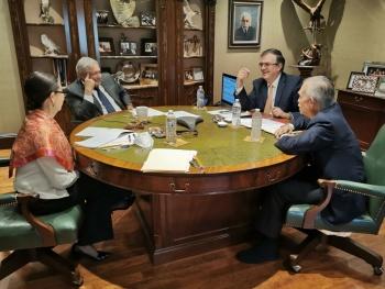 López Obrador dice conversó con Biden sobre migración, COVID-19 y cooperación bilateral