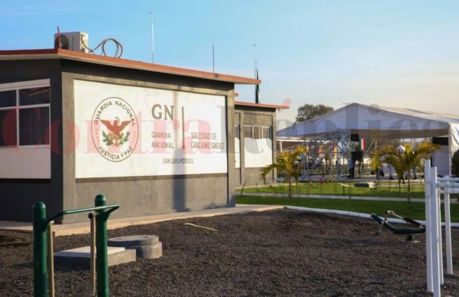 Autoridades inauguran cuartel general de la Guardia Nacional