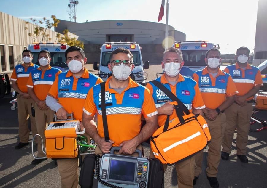 Recibe el SUEG nuevas ambulancias con equipo de vanguardia