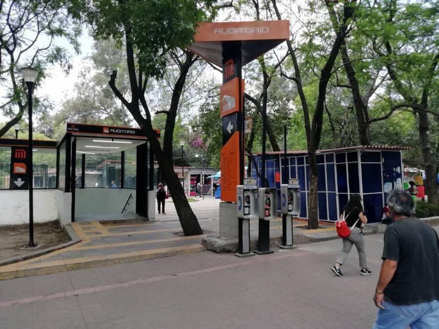 Historias en el Metro. Las rejas de Chapultepec