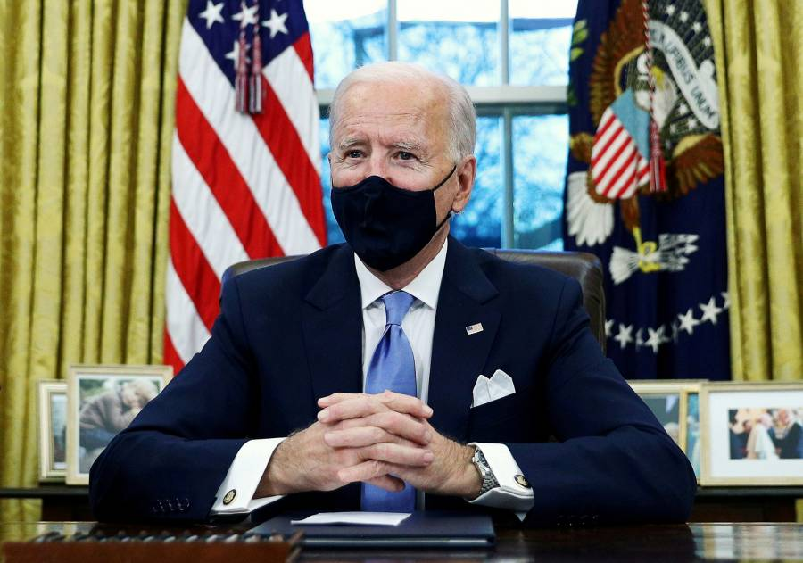 Biden presionará al Congreso EEUU por plan de estímulo de 1,9 billones dlrs