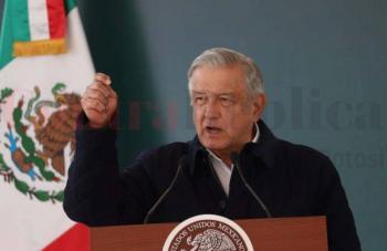Sierra de San Miguelito será una gran reserva para SLP: AMLO