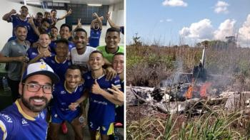 Cuatro jugadores de club Palmas murieron en un accidente aéreo