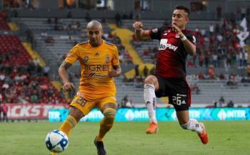 Tigres gana como visitante en México con goles de paraguayo y colombiano