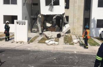 Explosión de vivienda en Querétaro deja 10 heridos y 56 casas dañadas