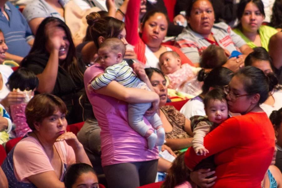 Promedio de bebés se reduce en México: INEGI