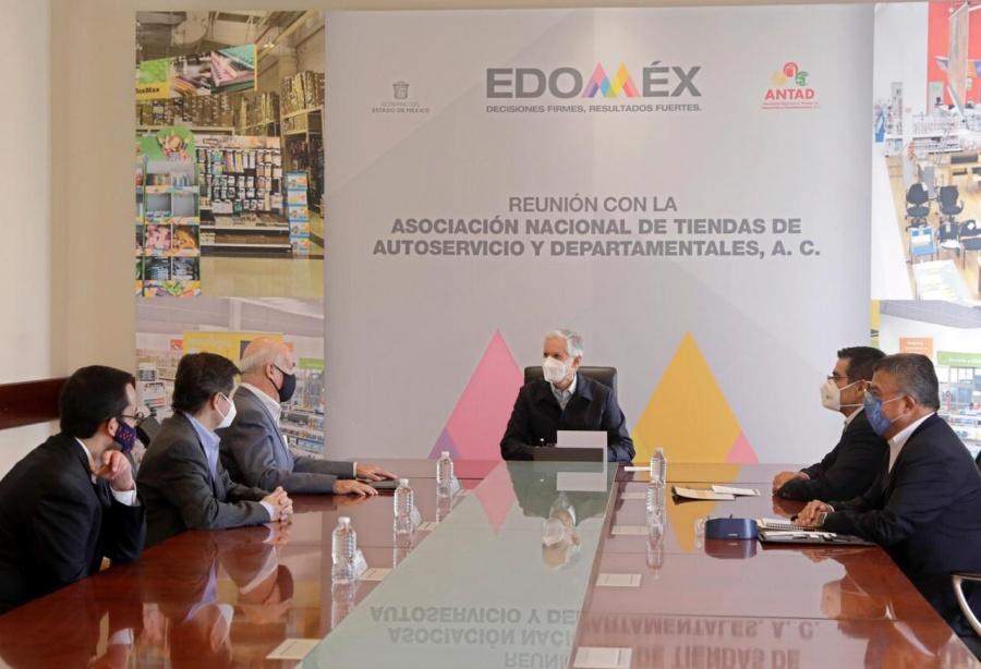 Sector empresarial y gobierno enfrentarán reactivación económica: gobernador Del Mazo